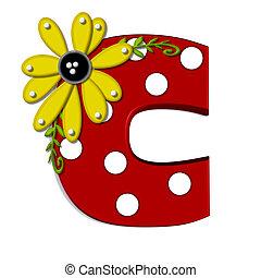 c, 希腊語的第一個字母, 向日葵, 葡萄樹