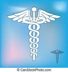caduceus, 符號, 醫學