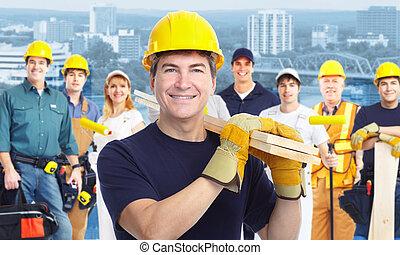carpenter., 工人