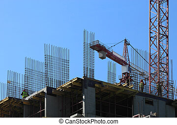 cast-in-place, 建設