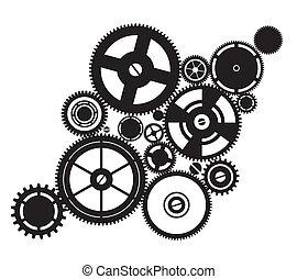 clockwork, 黑色半面畫像