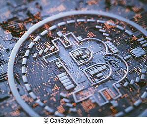 cryptocurrency, 全球的商務, 數字
