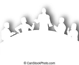 cutout, 會議