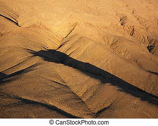 desert., 空中