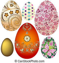 easter`s, 蛋, 集合