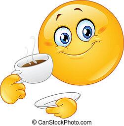 emoticon, 咖啡