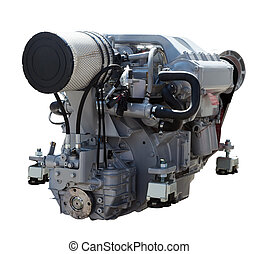 engine., 被隔离, 白色