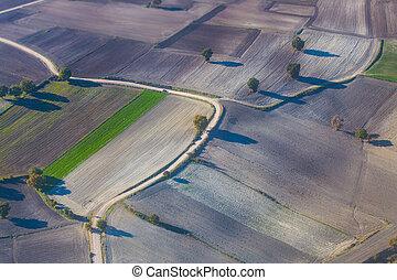 fields., 攝影, 空中