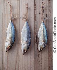 fish, 變干, 保存