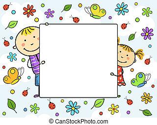 frame., 孩子