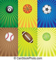 games., 集合, 運動, 球
