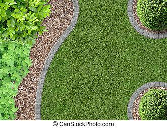 gardendetail, 空中的觀點