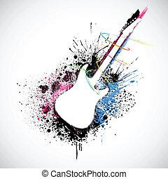 grungy, 吉他