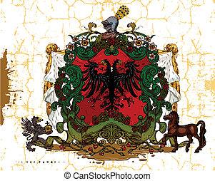 heraldic, 設計