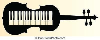 honkeytonk, 提琴