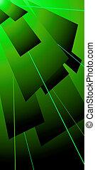 lazer, 綠色, 輕拍