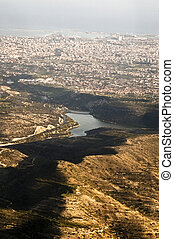 limassol, 城市, 空中的觀點