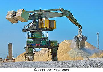 loader, 挖掘機, 重