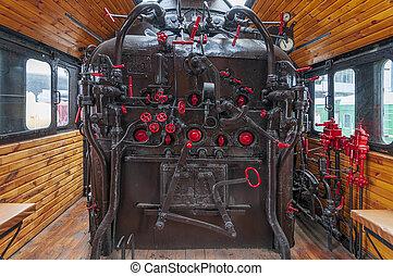 locomotive., 細節, 蒸汽