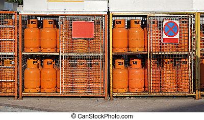 lpg, 气体, 圓筒