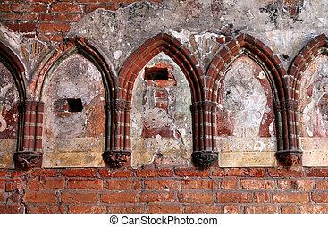 malbork, 城堡, 細節