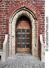 malbork, 城堡, 門