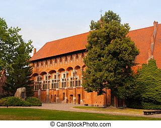 masters', malbork, 城堡, 教堂, 盛大