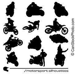 motorsport, 黑色半面畫像, 彙整