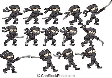 ninja, 攻擊