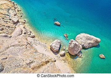 pag., 惊人, metajna, 石頭, beritnica, 沙漠, 海灘, 島, 看法, 空中, 風景, 著名