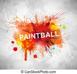 paintball, 旗幟