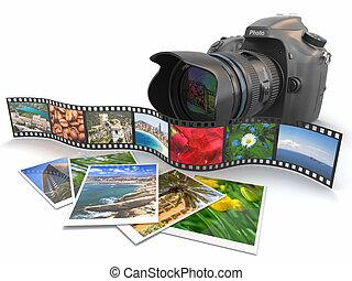 photography., 電影, photos., 照像機, slr