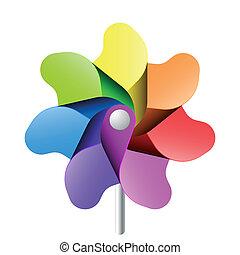 pinwheel, 玩具