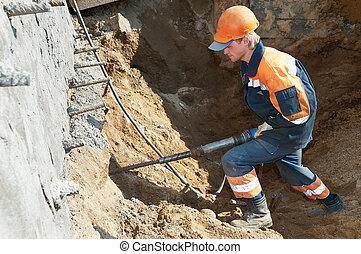 plugger, 建造者