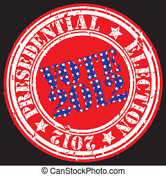 presedential, r, grunge, 選舉, 2012