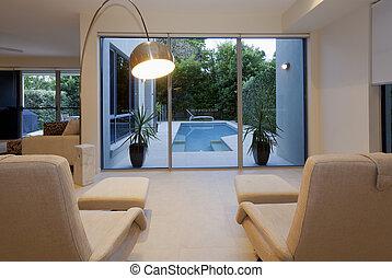 recliners, 房子, 現代, 二