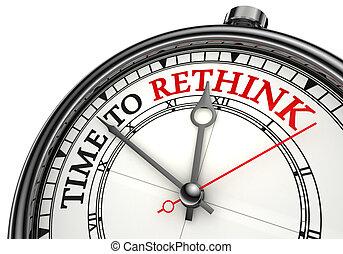 rethink, 概念, 時間鐘