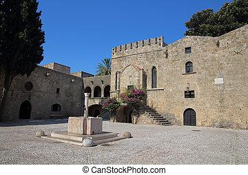 rhodes, 城堡, 城市, 希臘
