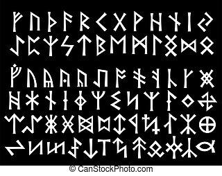 runic, 銀, 腳本