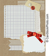 scrapbooking, 設計, 聖誕節