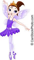 series)., 紫色, (rainbow, 芭蕾舞女演員, 顏色, 芭蕾舞女演員