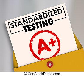 standardized, 分級, 測試, 普通, 報告, consi, 評估, 卡片