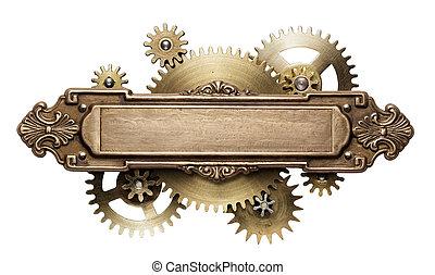 steampunk, 機制, clockwork
