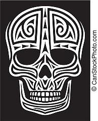 tattoo), 裝飾品, (skull, 頭骨