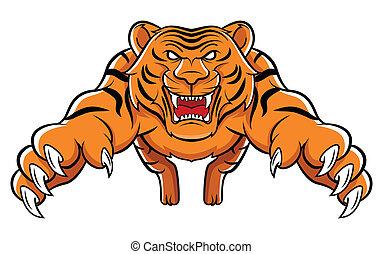 tiger, 攻擊