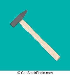 tool., 錘子, 木匠