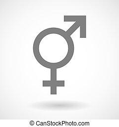 transgender, 符號, 插圖
