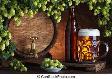 unbottled, 被裝入瓶內啤酒