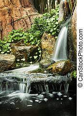 waterfalls., 花園