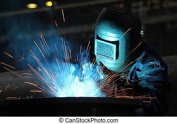 welders, 工人
